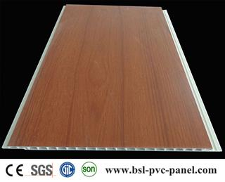 lamination woodend design pvc wall panels
