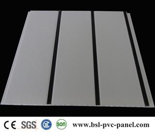 PVC Ceiling Panel with 3 black line