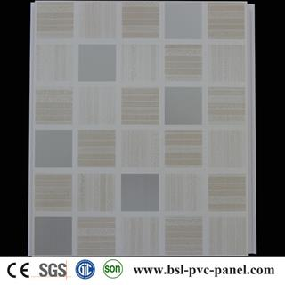 25cm hot stamping pvc ceiling panel