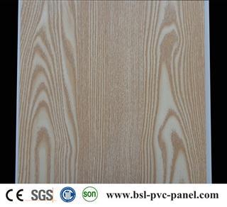 30cm 8mm laminated pvc wall panel