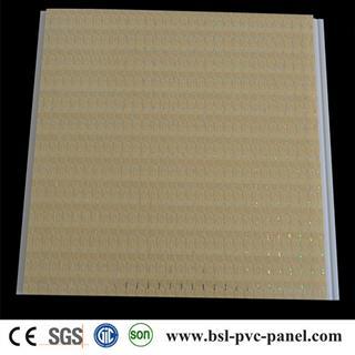 25cm hot stamping pvc ceiling panel for Algeria