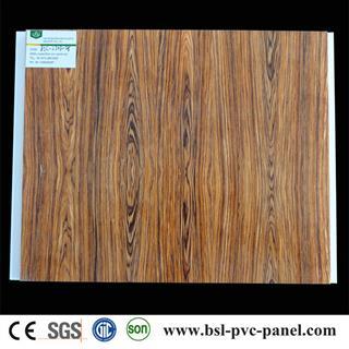 30cm wood grain pvc ceiling panel