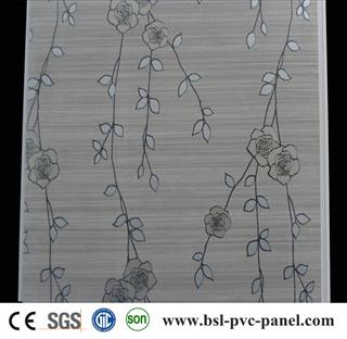 30cm laminated pvc wall panel for South Africa