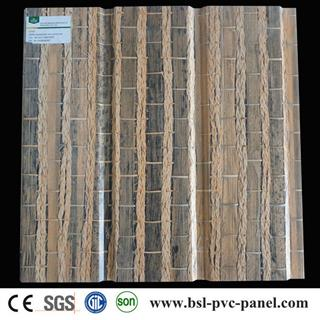 30cm bamboo pattern pvc wall panel