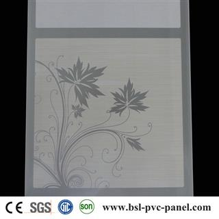 30cm 8mm hot stamping pvc ceiling for South Africa market
