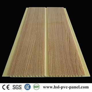 20cm Wood grain pvc ceiling panel from Haining