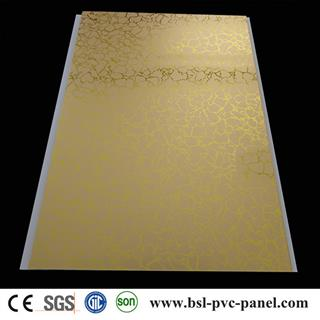 25cm hot stamping pvc ceiling panel from Haiyan supplier