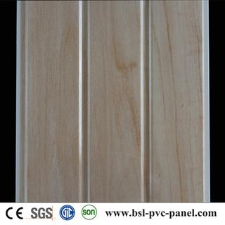 Two groove laminated pvc wall panel from Haiyan