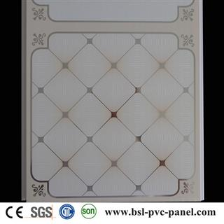 30cm 9mm 3.1kg hot stamping pvc ceiling panel