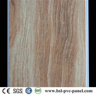 25cm 8mm hot stamping pvc ceiling panel From China