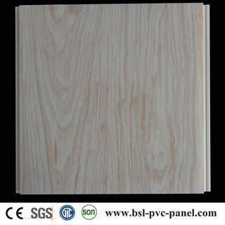 25CM 8MM normal printing wood grain pvc ceiling panel