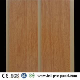 20cm middle groove hot stamping pvc ceiling panel