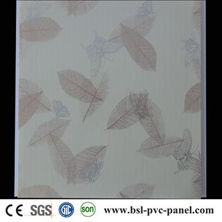 Good quality 30cm 8mm hot stamping pvc ceiling panel