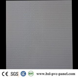 595mm*595mm*7mm laser pvc ceiling tiles from Haining