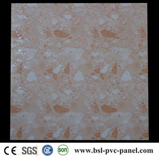 59.5cm marble pattern hot stamping pvc ceiling