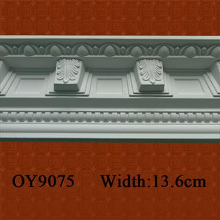 PU Carved Cornice Moulding