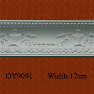 Pure White PU Moulding