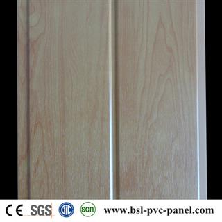 20cm 7.5mm middle groove laminated pvc panel