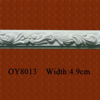 PU Carved Panel Moulding for Interior Decoration
