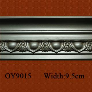 Polyurethane Cornice for interior decoration