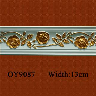 Hand Paint PU Cornice for South Africa