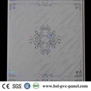30cm 6mm laser pvc ceiling panel from China