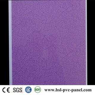 Hot Selling 25cm hot stamping pvc ceiling panel in Algeria