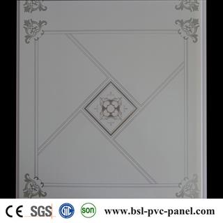 Hot stamping pvc ceiling panel for interior decoration