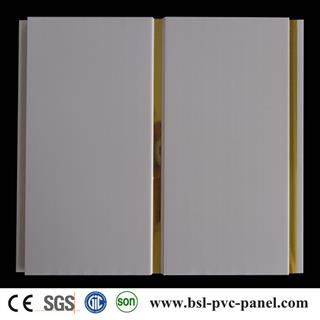 25cm 8.5mm middle groove pvc ceiling panel