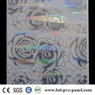 30cm Rose pattern pvc ceiling panel