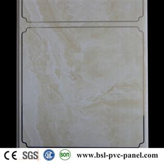 30cm 9mm hot stamping pvc ceiling sheet