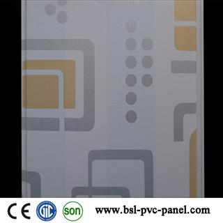 25cm lamination pvc wall panel for Pakistan
