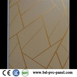 25cm 7.5mm laminated pvc wall panel for Pakistan