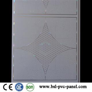 3900*300*8mm hot stamping pvc ceiling panel