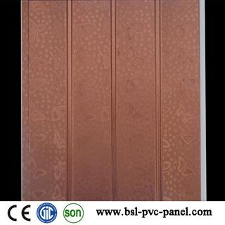25cm 4 wave pvc wall panel for India and Pakistan