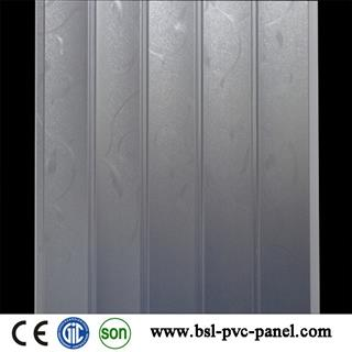 New design 30cm 5 wave pvc wall panel