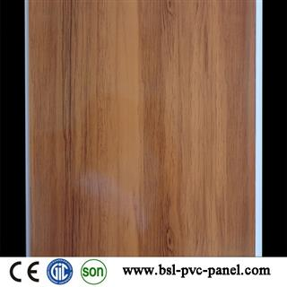 New pattern 25cm wood grain pvc ceiling for Algeria