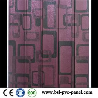 30cm 5 wave pvc wall panel for India and Pakistan