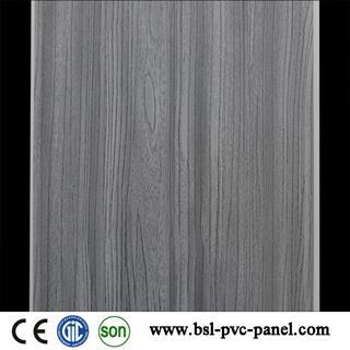 25cm 4 wave wood grain pvc wall panel