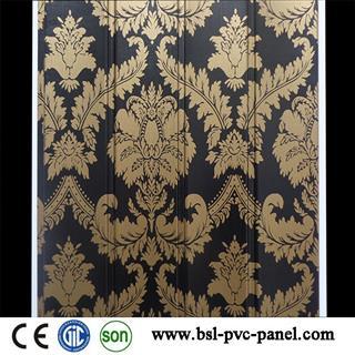 25cm wave lamination pvc wall panel