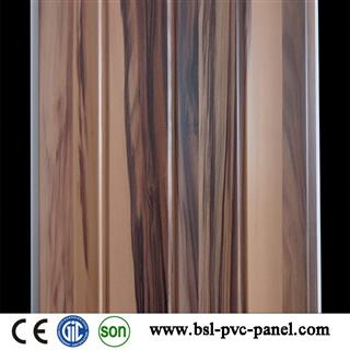 India Hot Sale 25cm wave pvc wall panel