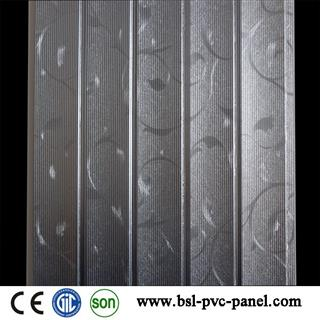 30cm 8mm 5 wave pvc wall panel with high quality and lowest price