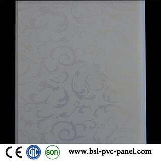 India 25cm hot stamping pvc profiles with holes