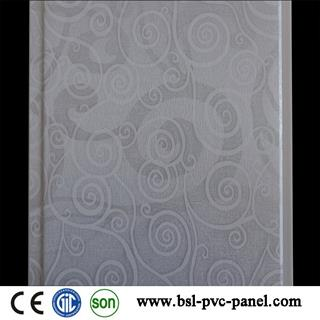 India 25cm 8mm u groove lamination pvc wall panel from China