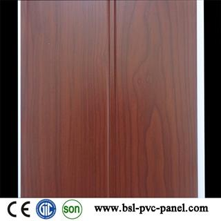 20cm 7mm middle groove pvc wall panel for Rwanda