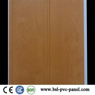 20cm middle groove lamination pvc wall panel supplier