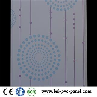 25cm V groove pvc wall panel for India and Pakistan