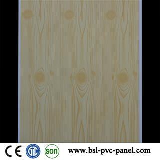 30cm 8mm wood grain pvc ceiling panel