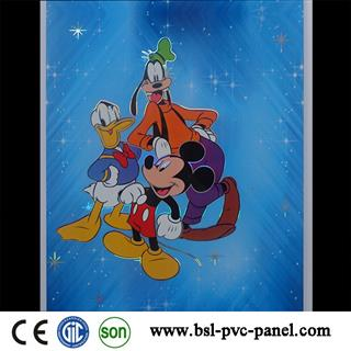 25cm Mickey Mouse design pvc ceiling panel for India