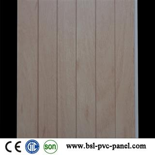 New design 25cm 8.5mm step pvc wall panel for India